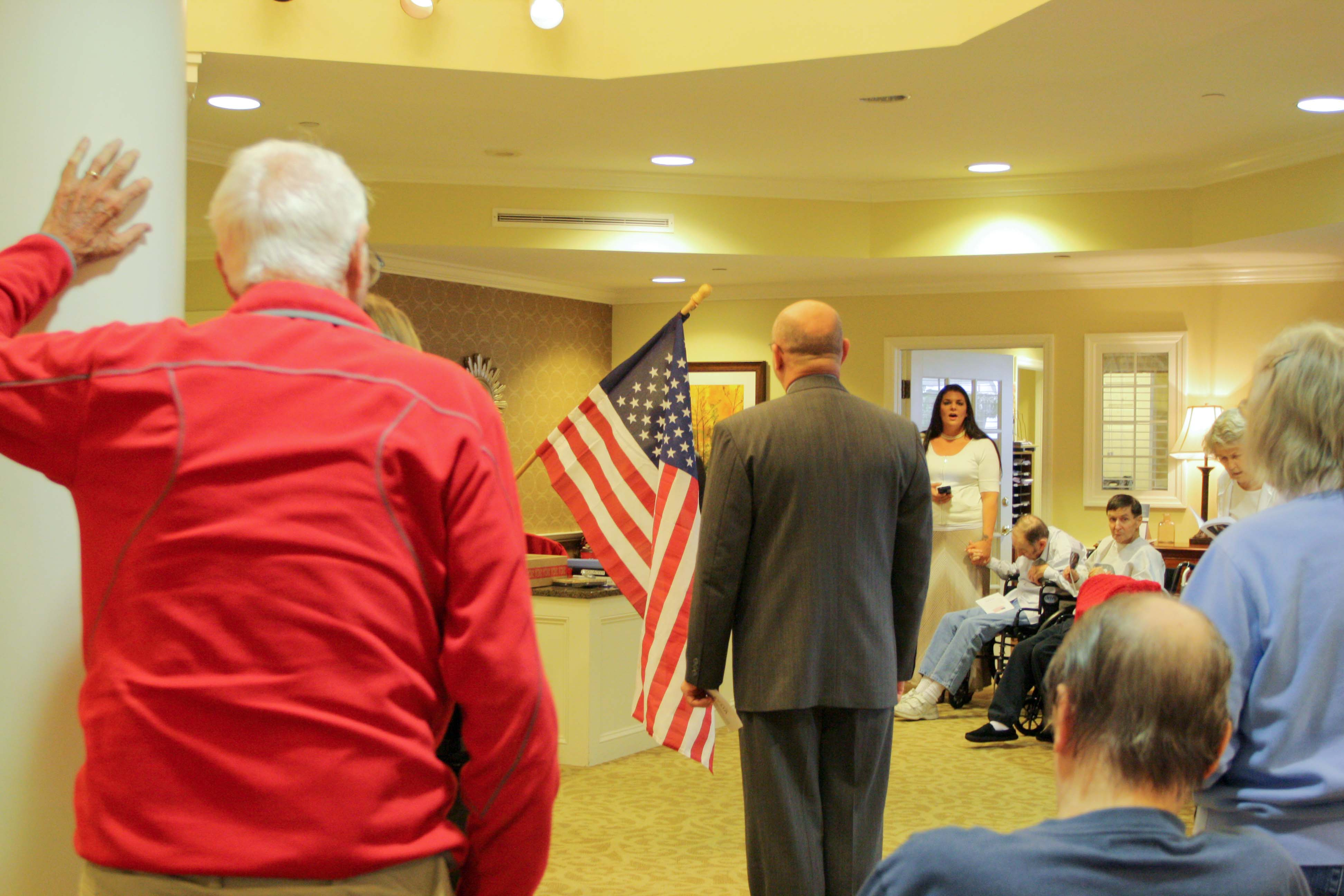 Brookdale Veterans Day Ceremony 2