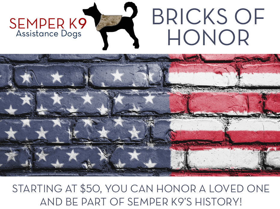 Bricks of Honor Semper K9