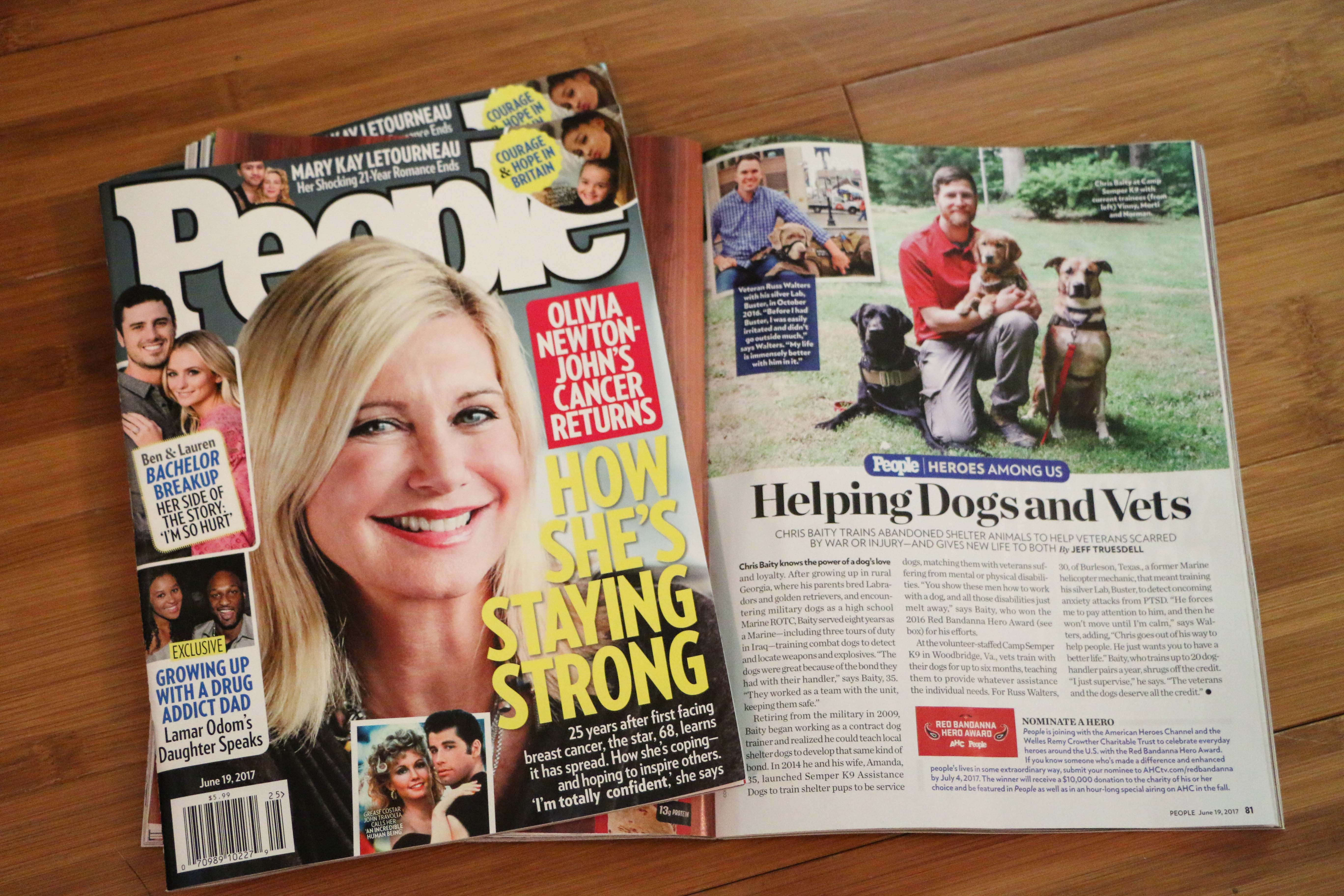 Semper K9 Featured in People Magazine