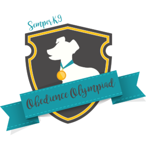 Semper K9 Obedience Olympiad shield