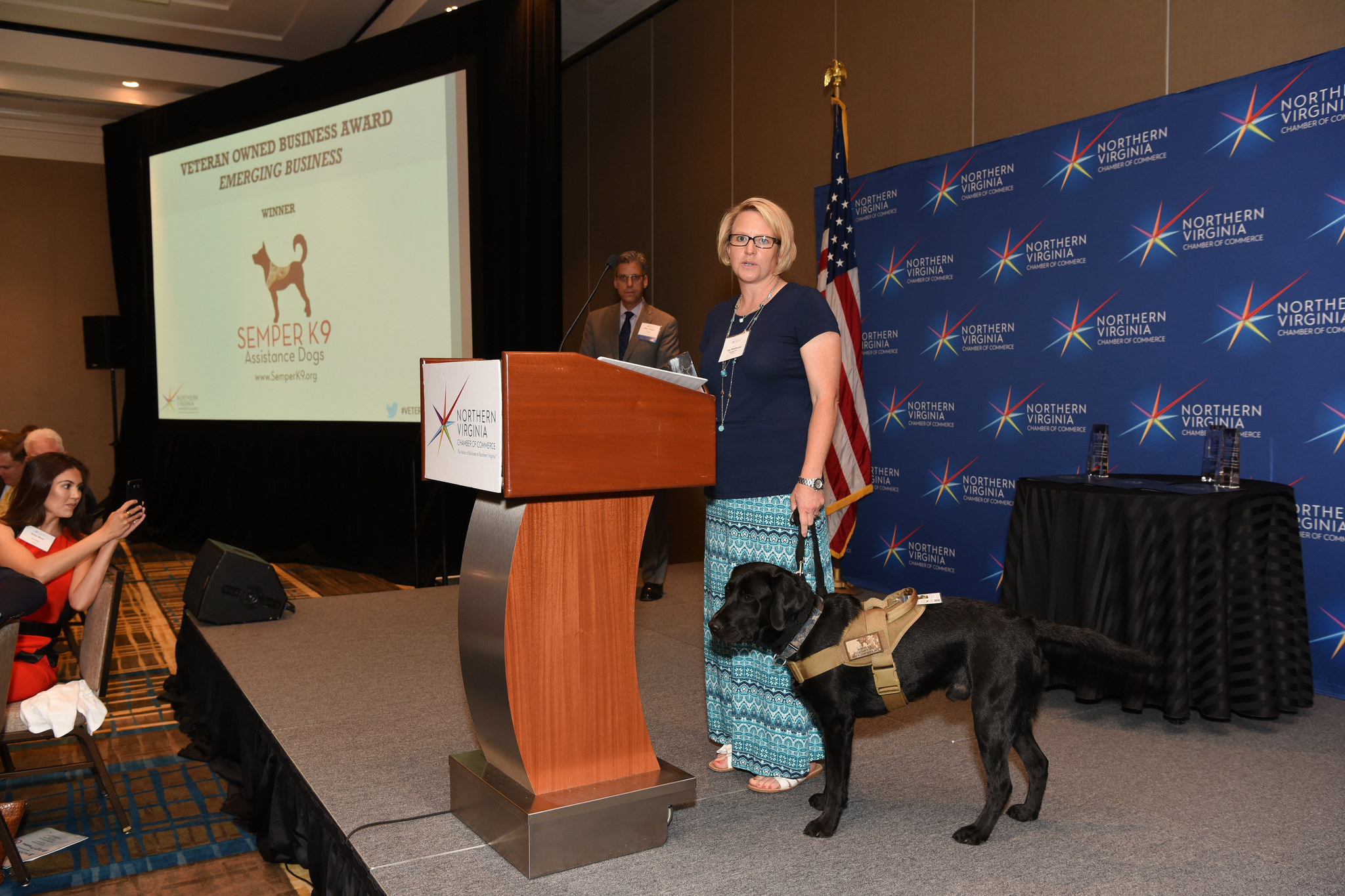 Semper K9 Wins Northern Virginia Chamber of Commerce Distinguished